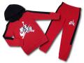 BP936 キッズ 子供用 Jordan Jumpman Classics Toddler Set ジョーダン パーカー&パンツ スウェットセットアップ 赤黒白