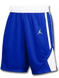 SJ906 メンズ Jordan Team Practice Shorts ジョーダン バスケットボールショーツ バスパン 青白【ドライフィット】