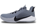 "NS785 メンズ Nike Mamba Fury TB ナイキ ""コービー・ブライアント"" Kobe Bryant バスケットシューズ バッシュ クールグレー黒白【箱なし】"