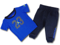 BT013 ベビー Jordan Infant Set ジョーダン Tシャツ&スウェットパンツ セットアップ ベビー服 子供用 青紺ネオングリーン 【メール便対応】