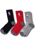 BK353 【ばら売り】 NBA Basketball Crew Socks バスケットボール クルーソックス ミドル丈 靴下 23cm~26.5cm 【メール便対応】