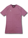 JN406 メンズ Jordan Dri-Fit 23 Alpha ジョーダン トレーニングシャツ ボルドー白【ドライフィット】 【メール便対応】