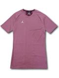 【大きいサイズ】 JN406 メンズ ジョーダン コンプレッション Tシャツ Jordan 23 Alpha Compression T-Shirt トレーニング アンダーウェア ボルドー白【ドライフィット】 【メール便対応】