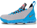 "KS732 キッズ/ジュニア Nike LeBron XVI 16 (GS) ""South Beach"" ナイキ レブロン・ジェームズ バスケットシューズ バッシュ ライトボーンツアーイエロー【箱なし】"