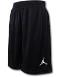SK380 ジュニア Jordan Youth Dri-Fit Shorts ジョーダン バスケットボール ショーツ キッズ バスパン 黒白【ドライフィット】 【メール便対応】