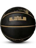 BL055 Nike LeBron Playground Basketball ナイキ レブロン バスケットボール 7号球 黒ゴールド