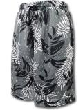 SJ909 メンズ Jordan Jumpman Printed Knit Shorts ジョーダン バスケットボールショーツ ハーフパンツ ダークグレー白黒