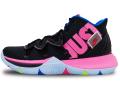 "NS788 メンズ Nike Kyrie 5 ""Just Do It"" ナイキ カイリー5 バスケットシューズ バッシュ 黒ハイパーピンクボルト【箱なし】"