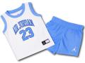 BT021 ベビー Jordan Infant Set ジョーダン トレーニング ノースリーブ&パンツ セットアップ ベビー服 子供用 白水色 【メール便対応】
