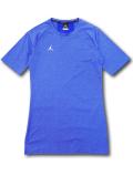 【大きいサイズ】 JN407 メンズ ジョーダン コンプレッション Tシャツ Jordan 23 Alpha Compression T-Shirt トレーニング アンダーウェア 青白【ドライフィット】 【メール便対応】