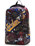 """JB112 Jordan """"March Madness"""" Graphic Backpack ジョーダン リュックサック バックパック 黒マルチカラー"""