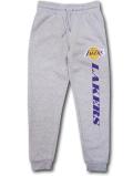 PK128 ジュニア UNK NBA Los Angeles Lakers アンク ロサンゼルス・レイカーズ スウェットパンツ キッズ 長ズボン 灰紫