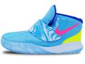 "BB896 ベビー Nike Kyrie 6 (TD) ""Pool"" ナイキ カイリー・アービング シューズ 靴 スニーカー バルチックブルー【箱なし】 16cm"