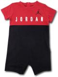 BT026 ベビー ジョーダン ロンパース Jordan Rompers ベビー服 赤ちゃん 赤黒白 【メール便対応】