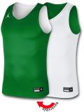 JN415 メンズ ジョーダン リバーシブル ジャージ Jordan Practice Reversible Jersey トレーニングノースリーブ 黄緑白