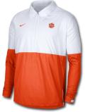 KL555 メンズ ナイキ NCAA クレムソン大学 タイガース コーチジャケット Nike Clemson Tigers Coach Jacket 白オレンジ