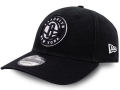 CN182 ニューエラ NBA ブルックリン・ネッツ ストラップバックキャップ New Era Brooklyn Nets Strapback Cap 帽子 黒白