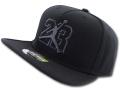 JC008 メンズ エアジョーダン スナップバックキャップ Air Jordan AJ13 XIII Snapback Cap 帽子 黒