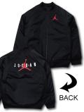 OK951 ジュニア ジョーダン 中綿ジャケット Jordan MA-1 Jacket キッズ ボンバージャケット 黒赤白