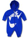BT375 ベビー Nike Futura Infant Coverall ナイキ フード付き カバーオール 青白 【メール便対応】