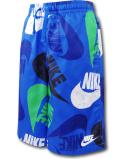PK130 ジュニア ナイキ ハーフパンツ Nike Youth Shorts キッズ ユース 青白 【メール便対応】