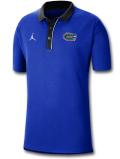 JP254 メンズ ジョーダン NCAA フロリダ大学 ゲイターズ カレッジポロシャツ Jordan Florida Gators Polo 青黒【ルーズフィット】
