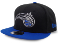 CN183 ニューエラ NBA オーランド・マジック スナップバックキャップ New Era Orlando Magic Snapback Cap 帽子 黒青
