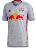 KO450 メンズ adidas MLS ニューヨーク・レッドブルズ レプリカジャージ New York Red Bull Home 2019 アディダス サッカー ユニフォーム 灰赤 【メール便対応】
