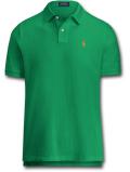 KO451 メンズ ラルフローレン ポロシャツ Polo Ralph Lauren Classics 緑オレンジ