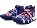 "KS757 キッズ/ジュニア Nike Kyrie Irving Kybrid S2 (GS) ""Tie Dye USA"" ナイキ ~カイリー・アービング~バスケットシューズ バッシュ ブルーボイド白メタリックゴールド【箱なし】"