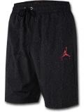 PJ874 メンズ Jordan Jumpman Poolside Shorts ジョーダン ハーフパンツ 黒赤