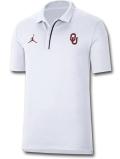 JP259 メンズ ジョーダン NCAA オクラホマ大学 スーナーズ カレッジポロシャツ Jordan Oklahoma Sooners Polo 白ワインレッド黒