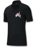 JP257 メンズ ジョーダン ポロシャツ Jordan Jumpman Classics Polo 黒白赤