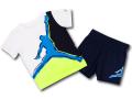 BP976 キッズ 子供用 ジョーダン Tシャツ&ハーフパンツ セットアップ Jordan Toddler Set 白紺 【メール便対応】