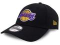 CN186 ニューエラ NBA ロサンゼルス・レイカーズ アジャスタブルキャップ New Era Los Angeles Lakers Adjustable Cap 帽子 黒黄色