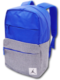 JB966 Jordan Pivot Colorblocked Backpack ジョーダン リュックサック 青ダークグレー