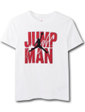 LL517 ジュニア ジョーダン Tシャツ Jordan Youth Jumpman Flight T-Shirt キッズ ユース トップス 白赤黒 【メール便対応】