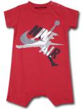 BT035 ベビー ジョーダン ロンパース Jordan Jumpman Classics Rompers ベビー服 赤ちゃん 赤灰白 【メール便対応】