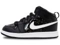 BB901 キッズ 子供用 Air Jordan 1 Mid SE (PS) エアジョーダン シューズ 靴 スニーカー 黒白 17cm 18cm