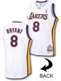 NB547 メンズ ミッチェル&ネス NBA コービー・ブライアント レイカーズ オーセンティックジャージ Mitchell & Ness Kobe Los Angeles Lakers Jersey 03-04 ユニフォーム 白