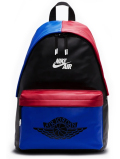 JB117 Air Jordan 1 AJ1 Backpack ジョーダン リュックサック バックパック 黒青赤