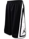 SK409 ジュニア ジョーダン バスケットボールショーツ Jordan Franchise Shorts キッズ バスパン 黒白 【メール便対応】