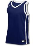 JN426 メンズ ジョーダン トレーニング ジャージ Jordan Stock Basketball Jersey ノースリーブ 紺白【ドライフィット】 【メール便対応】