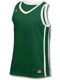 JN428 メンズ ジョーダン トレーニング ジャージ Jordan Stock Basketball Jersey ノースリーブ 緑白【ドライフィット】 【メール便対応】
