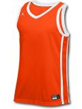 JN430 メンズ ジョーダン トレーニング ジャージ Jordan Stock Basketball Jersey ノースリーブ オレンジ白【ドライフィット】 【メール便対応】