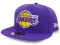 CN190 ニューエラ NBA ロサンゼルス・レイカーズ スナップバックキャップ New Era Los Angeles Lakers Snapback Cap 帽子 紫白