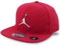 KC679 ジュニア ジョーダン スナップバック キャップ Jordan Youth Snapback Cap キッズ 帽子 赤黒メタリックシルバー
