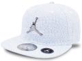 KC680 ジュニア ジョーダン スナップバック キャップ Jordan Youth Snapback Cap キッズ 帽子 白青メタリックシルバー