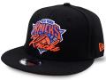 KC683 ジュニア ニューエラ NBA ニューヨーク・ニックス スナップバックキャップ New Era New York Knicks Snapback Cap 黒オレンジ