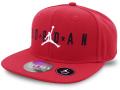 BA598 キッズ 子供用 ジョーダン スナップバックキャップ Jordan Snapback Cap Kids チャイルドサイズ 帽子 赤黒白